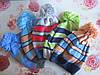 """Детская шапка с балабоном """"Полоска"""" на мальчика. Разные цвета. Оптом."""