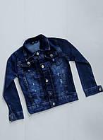 Джинсовая куртка на мальчика 3,4,5,6 лет!