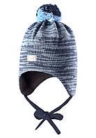 Зимняя шапка для мальчика Lassie by Reima718693-6740. Размер XS, S и М.
