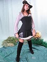 Пиратка - взрослый карнавальный костюм, фото 1