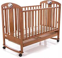 Детская кроватка Baby Care BC-435M (тик)