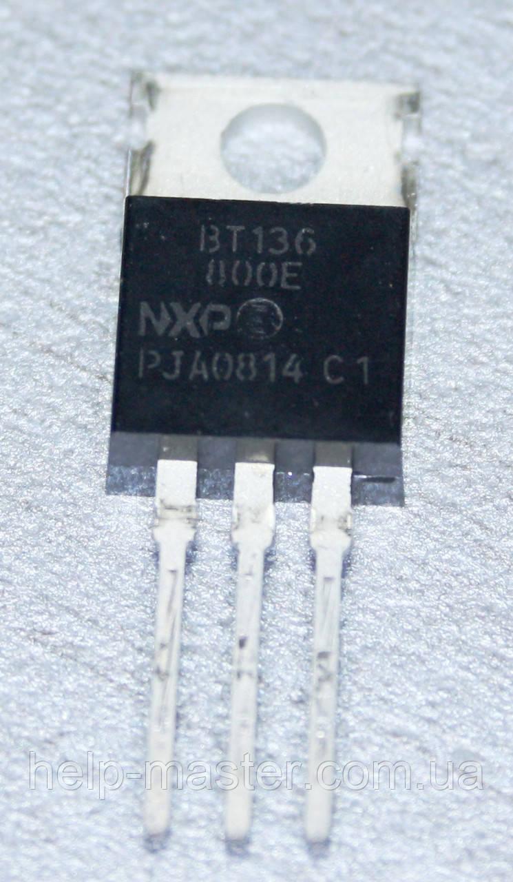 Сімістор BT136-800E (TO-220AB)