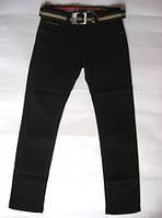 Черные джинсы для мальчика р.134-146 (арт.114)