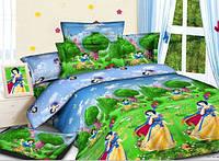 Постельное бельё полуторное для детей ARYA сатин  princess