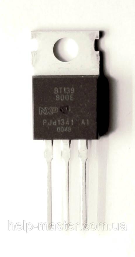Сімістор BT139-800E (TO-220AB)