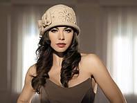 Шляпка женская с полями зимняя Willi Atlanta