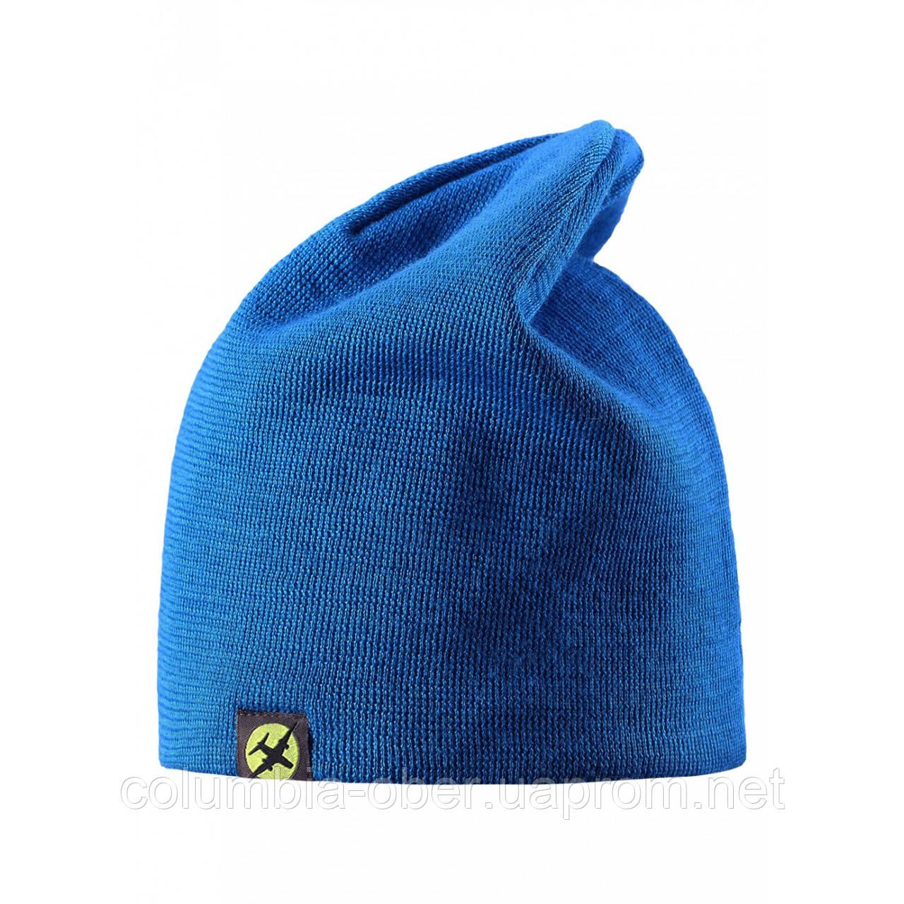 Зимняя шапка для мальчика Lassie by Reima 728694 - 6510. Размер S, М и L.