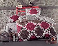 Набор постельного белья двуспальный евро 200х220 Aran CLASY Ranforce Casa V1