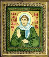 Набор для вышивания крестом «Святая блаженная Матрона» (876), Риолис