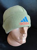 Мужские флисовые шапки с отворотом, фото 1