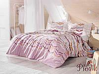 Набор постельного белья двуспальный евро 200х220 Aran CLASY Ranforce Cisona V2