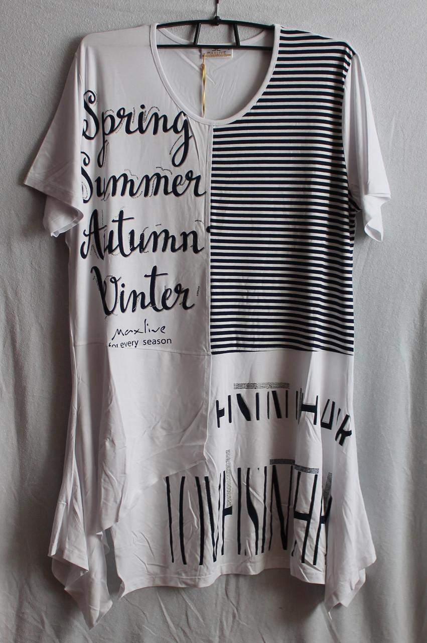 Туника-платье женское 2234 Белый