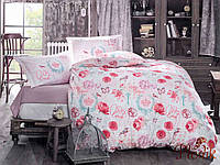 Набор постельного белья двуспальный евро 200х220 Aran CLASY Ranforce Desire V1