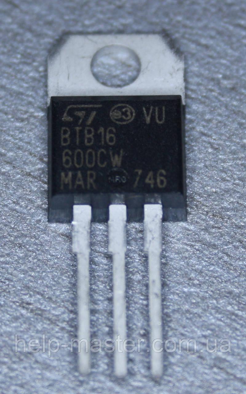 Сімістор BTB16-600CW (TO-220AB)
