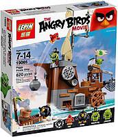 """Конструктор lepin angry birds 19005 """"пиратский корабль свинок"""" 650 деталей"""