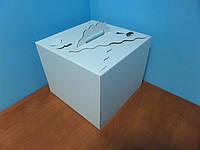 """Коробка для тортов """"Бабочка"""", 300х300х250"""