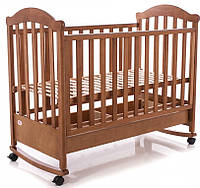 Детская кроватка Baby Care BC-475BC (тик)