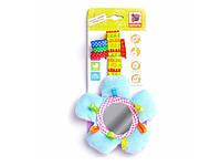 Развивающая игрушка для малышей (подвеска на липучке), погремушка