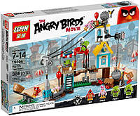 "Конструктор lepin angry birds 19004 ""разгром свинограда"" 386 деталей"