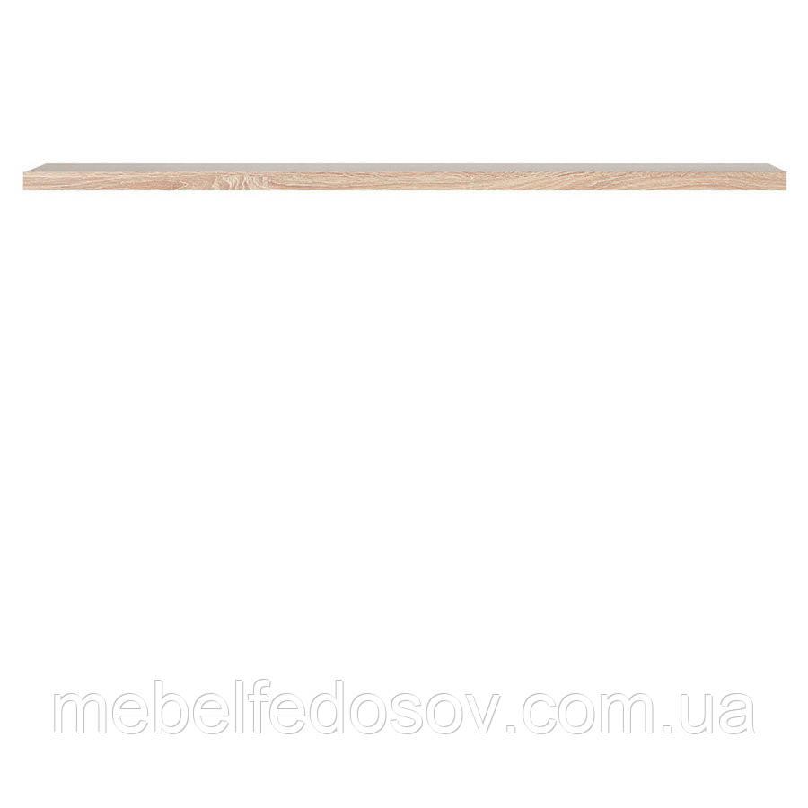 Полка навесная POL /140 Каспиан  (BRW/БРВ Украина) дуб сонома
