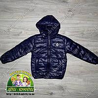 Демисезонная куртка темно-синяя
