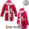 Детские махровые халаты от 5 до 8 лет (4893-1)