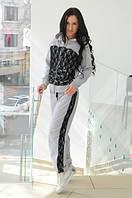 Женский спортивный костюм с гипюром