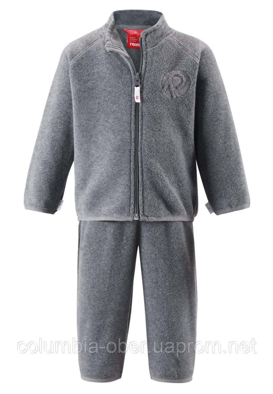 Флисовый костюм для мальчика Reima Etamin 516268-9400. Размер 80.