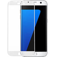 S7 Edge white Samsung Screen protector Veron (2.5D) with rounded edges