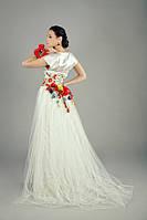 Платье в национальном стиле, свадебное, фото 1