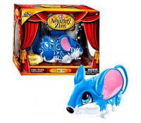 Интерактивная мышка циркач синяя Динамо ( Dynamo ) Amazing Zhus