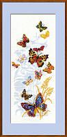 Набор для вышивания крестом «Бабочки России» (902), Риолис