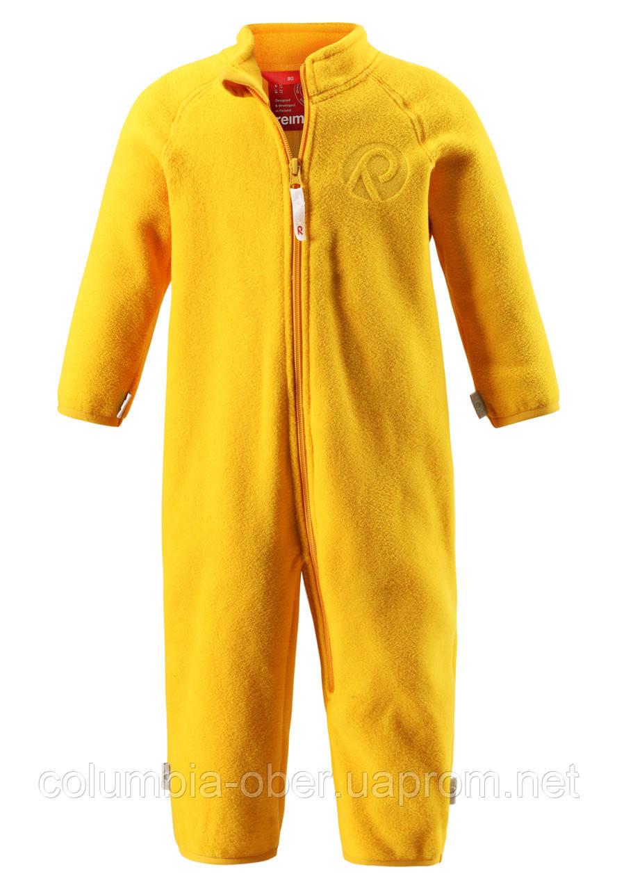 Флисовый костюм для девочки Reima 516269-2320. Размер 86.