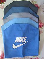 """Детская трикотажная шапка """"Nike"""" на мальчика. Разные цвета. Оптом., фото 1"""