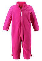 Флисовый костюм для девочки Reima 516269-4620. Размеры 80 - 98.