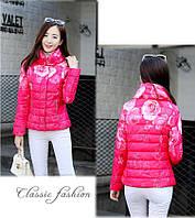 Лёгкая осенне-зимняя курточка с наполнителем (4 цвета, 4 размера)