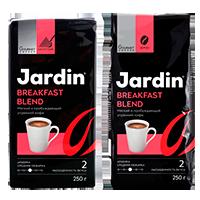 "Кофе Jardin ""Breakfast blend"" 250гр, зерно"
