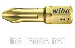 Биты PH1 x 25 мм HOT Torsion Wiha 04486