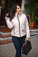 Куртка женская демисезонная большие размеры (цвета) А7074
