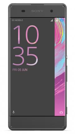 Мобильный телефон  Sony Xperia XA Dual (F3112) Black, фото 2