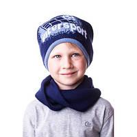 Детская шапочка на мальчика спорт