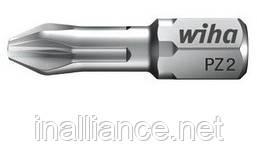 Биты PZ1 х 25 мм ZOT Torsion Wiha 05074