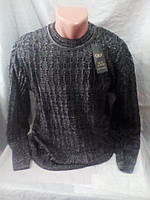 Мужской качественный черный свитер 50-56 рр