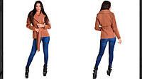 Женское кашемировое пальто е413, фото 1