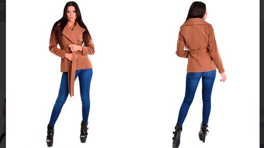 Женское кашемировое пальто е413