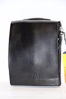 Стильная черная мужская сумка через плечо CTR BAGS