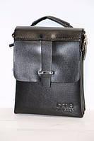 Стильная мужская сумка через плечо - кожзам