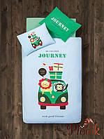 Детское постельное белье в кроватку 100х150 Aran CLASY Bebek JOURNEY