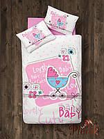 Детское постельное белье в кроватку 100х150 Aran CLASY Bebek LOVELY BABY