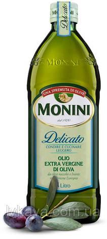 Оливковое масло  Monini Delicato  Extra Vergine  , 1 л, фото 2